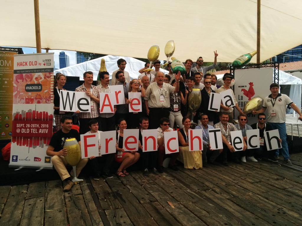 We are La French Tech! @MeetLaFT #HACKDLD https://t.co/7kVJDsjmvn