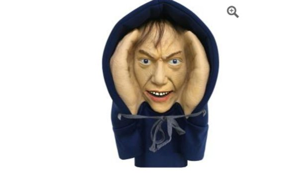 Awake yet? Bet you are now.Home Depot pulls 'Scary Peeper Creeper' from stores: 'ottnews