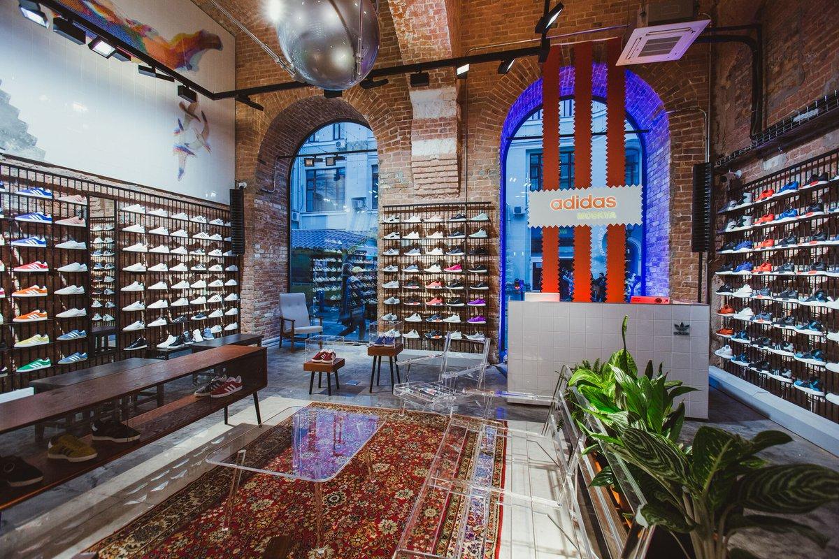 adidas Originals opens flagship store in Russia