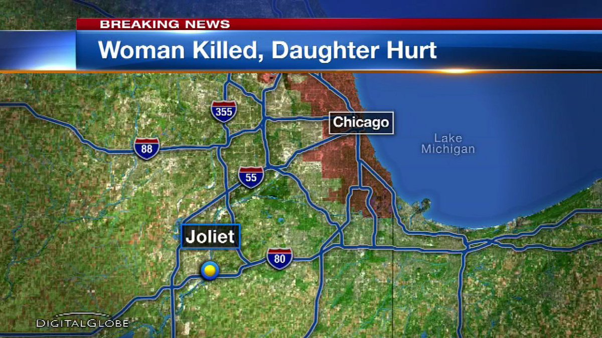 Woman killed, daughter and brother wounded in Joliet shooting