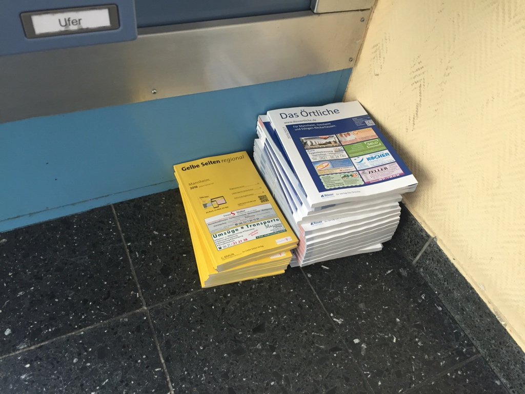 Some weirdo company is printing thousands of addresses and phone numbers into books! Please send help! #databreach https://t.co/u51EgLSinc