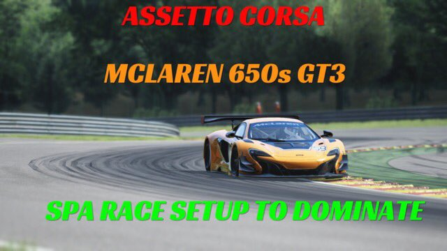 """thekie25 on twitter: """"@ac_assettocorsa dominate spa online with this"""