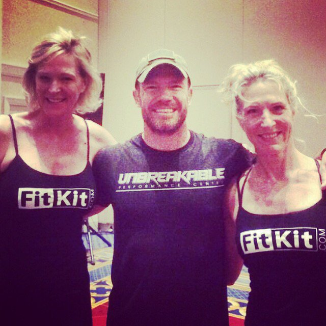 You know its going to be a good day when @NateBoyer37 shows up to workout with you. @EHBCongress #EHBC16 https://t.co/jsqyk1iyBU