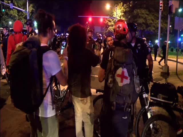 JUST IN: 11 arrests made during night 6 of protests in Charlotte »