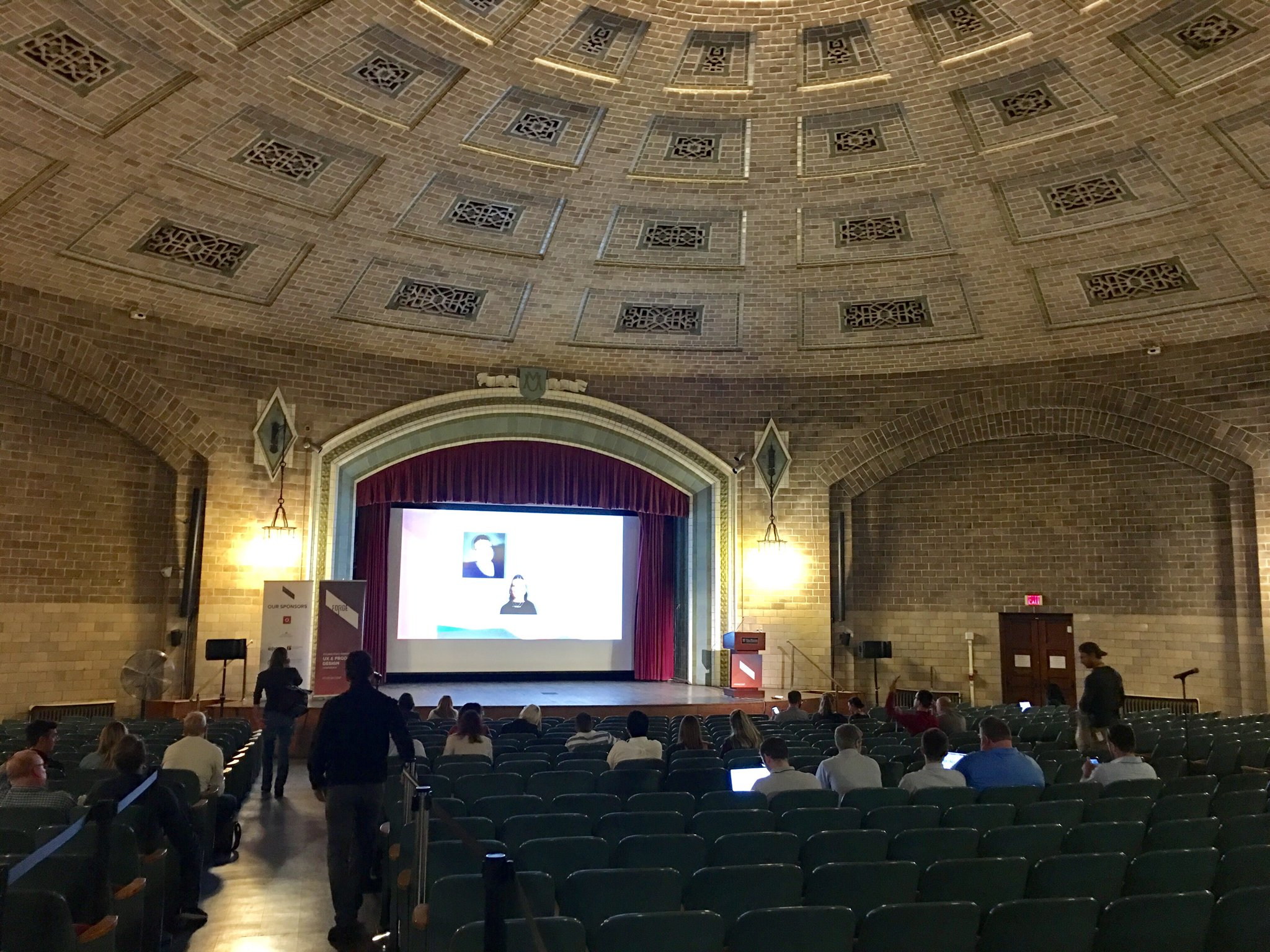 #forgeconf is about to start in a very nice venue: https://t.co/BccyVnCrXG