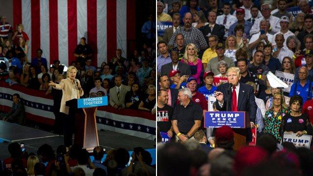 Clinton, Trump poised for historic debate battle