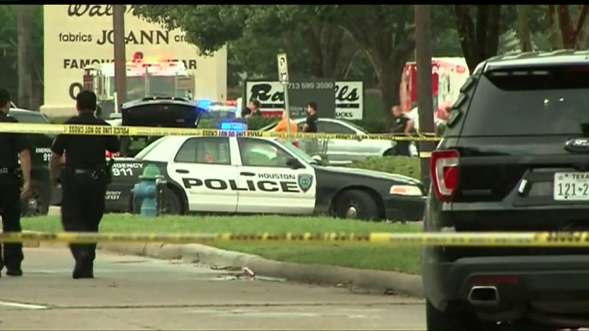 Houston shooting: Police say they've shot suspect