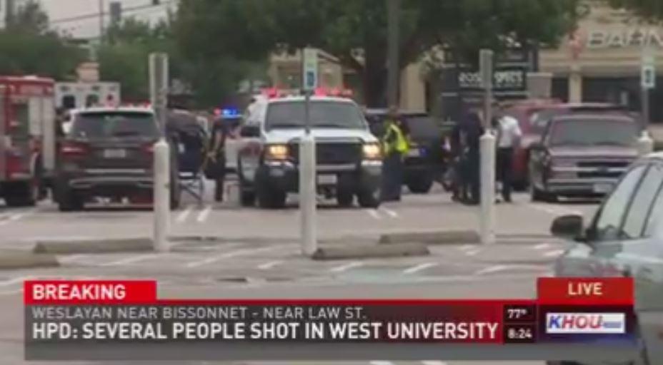 Active shooter down, 6 taken to hospital in Houston 9newsmornings