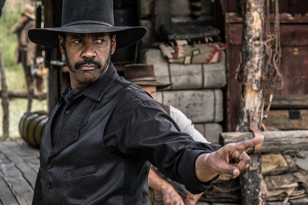'The Magnificent Seven' rides Denzel Washington's star power to $35M debut.