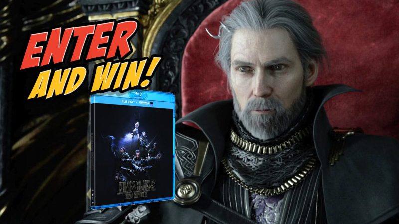 Follow and RT to Win 1 of 3 Blu-rays of Final Fantasy XV: Kingsglaive https://t.co/dhy3v4ECux Ends 1/10/16 11:59pm https://t.co/93MpY8ssoW