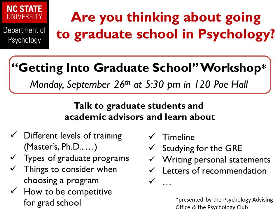 Nc state psychology ncstatepsych twitter for Psychologie nc 2016