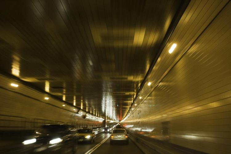 Two buses collide inside Lincoln Tunnel, causing delays