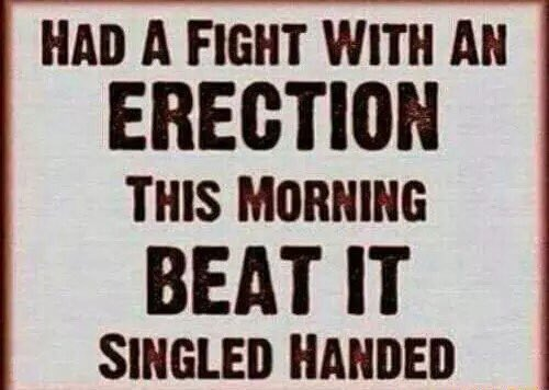 Erections from violence