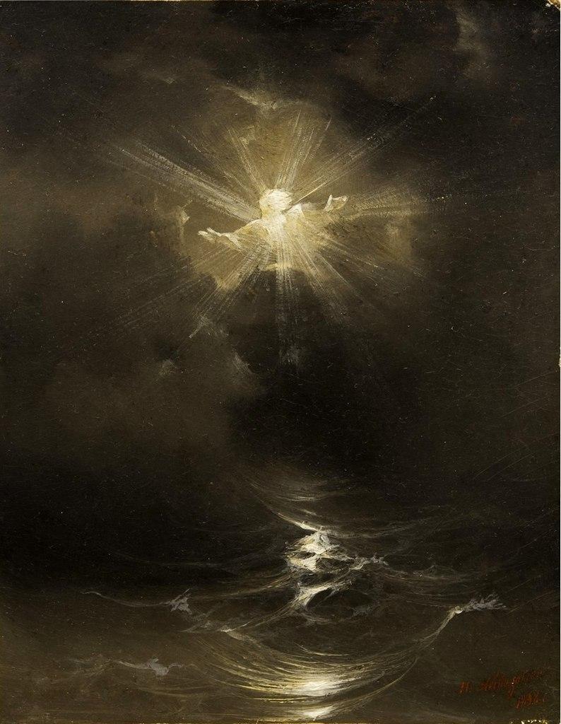 айвазовский картина сотворение мира фото полынь представляет собой