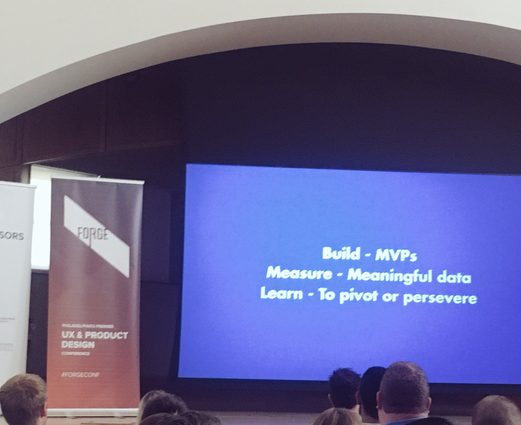 Productive morning here @ForgeConf - Learning about enhancing the MVP mindset #forgeconf https://t.co/iNmz2ZJh76