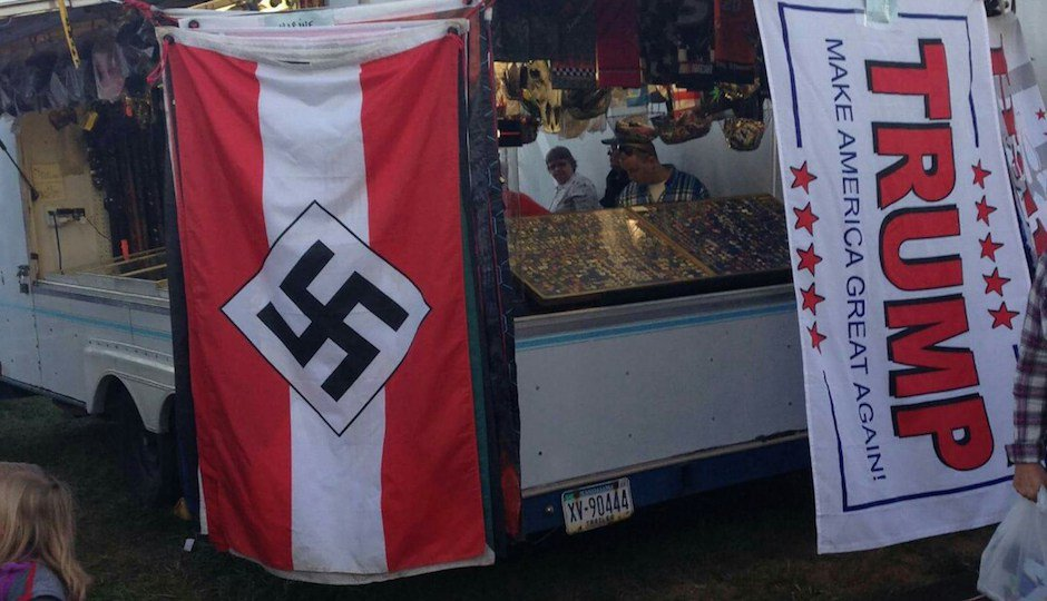 Nazi Flags Were for Sale at the Bloomsburg Fair This Weekend
