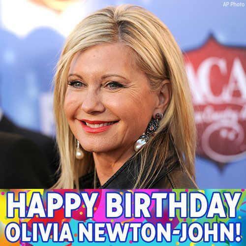 Wishing an electrifying birthday to singer-actress @olivianj! OliviaNewtonJohn