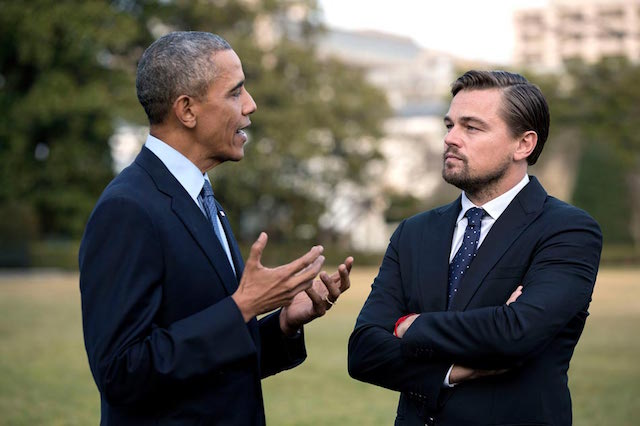 White House's South by South Lawn features Leonardo DiCaprio, kids from