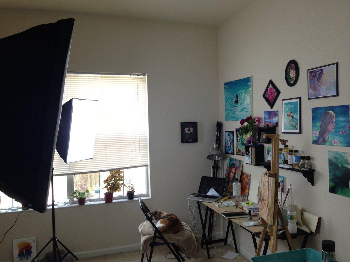 Lena Danya On Twitter My Studio Assistant Is Sleeping The Job Again Tco BiZVkUAru3
