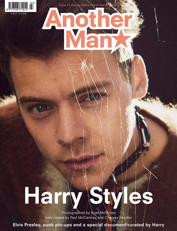Another Man   Issue 23 featuring @Harry_Styles by Ryan McGinley   Alasdair McLellan   Willy Vanderperre @AnotherMan https://t.co/l8X0uyqf7F