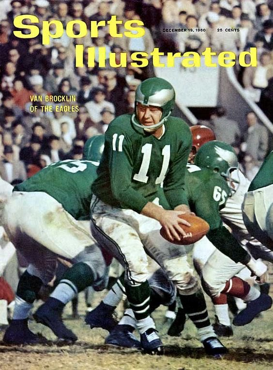 Only 2 QBs have led Eagles to NFL Championships. Norm Van Brocklin, Tommy Thompson... Both wore 11 FlyEaglesFly