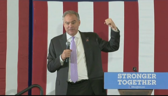 LIVE | Tune in NOW to watch Sen.Tim Kaine speaking in Florida ahead of tonight's debate