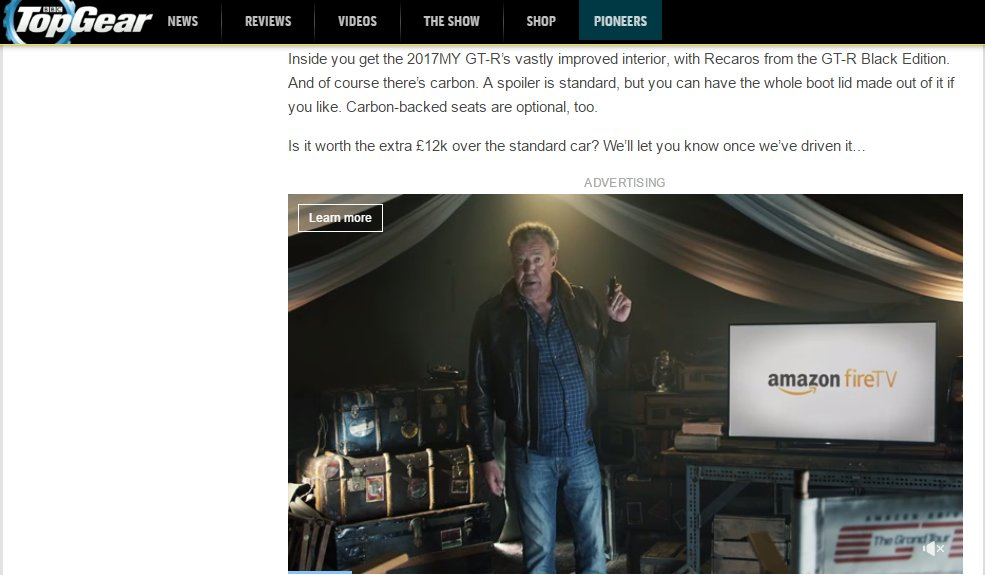 Once Driven Reviews >> J On Twitter Ad For Amazonfire With Jeremyclarkson On
