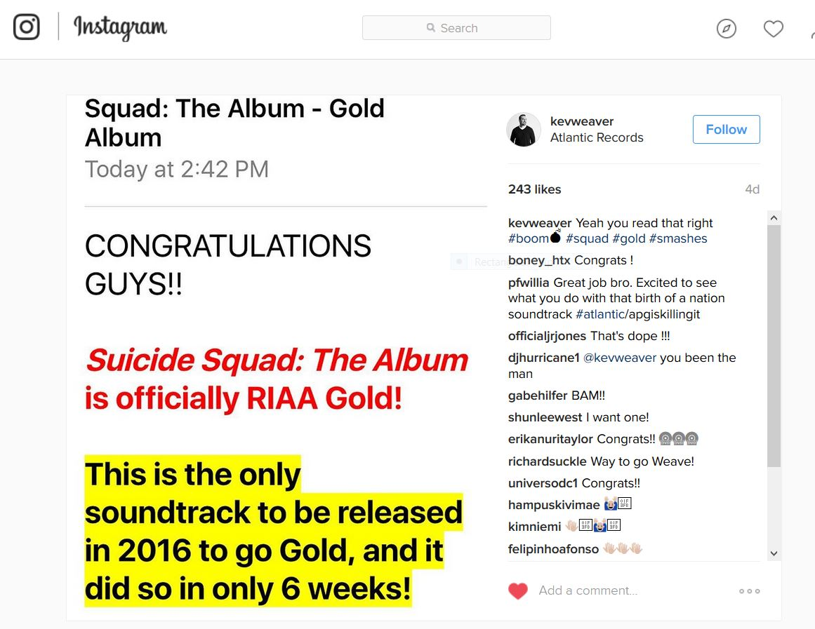 Riaa On Twitter Only Soundtrack This Year To Achieve Riaa