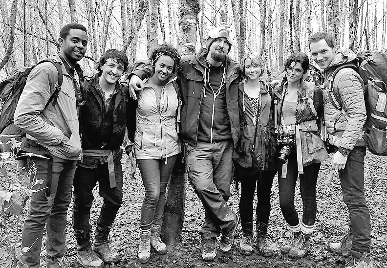 The cast of Blair Witch (2016)