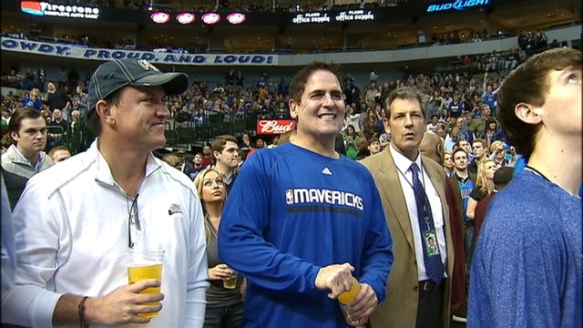 Mark Cuban has front row seat for Monday's presidential debate