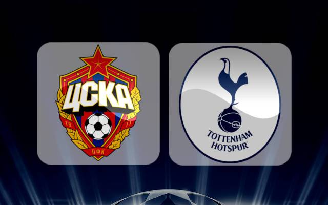 CSKA Moskva vs Tottenham Hotspur