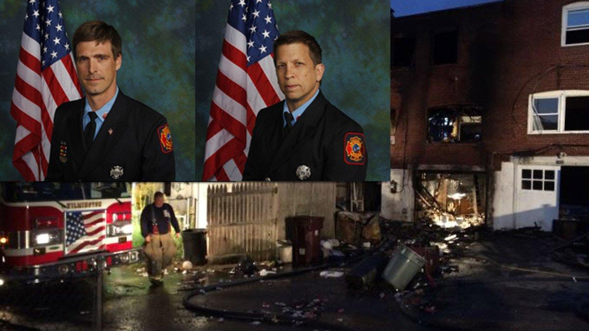 LIVE NOW: Wilmington fire chief talks death of 2 firefighters