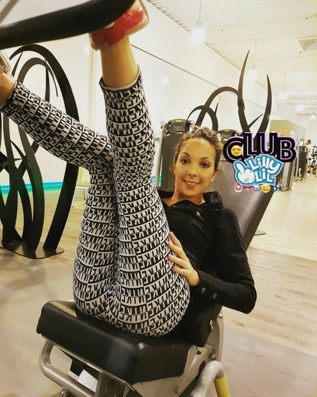 Club Lilly-Lil on Twitter: GYM 😉💪💪💪💪 ============ #