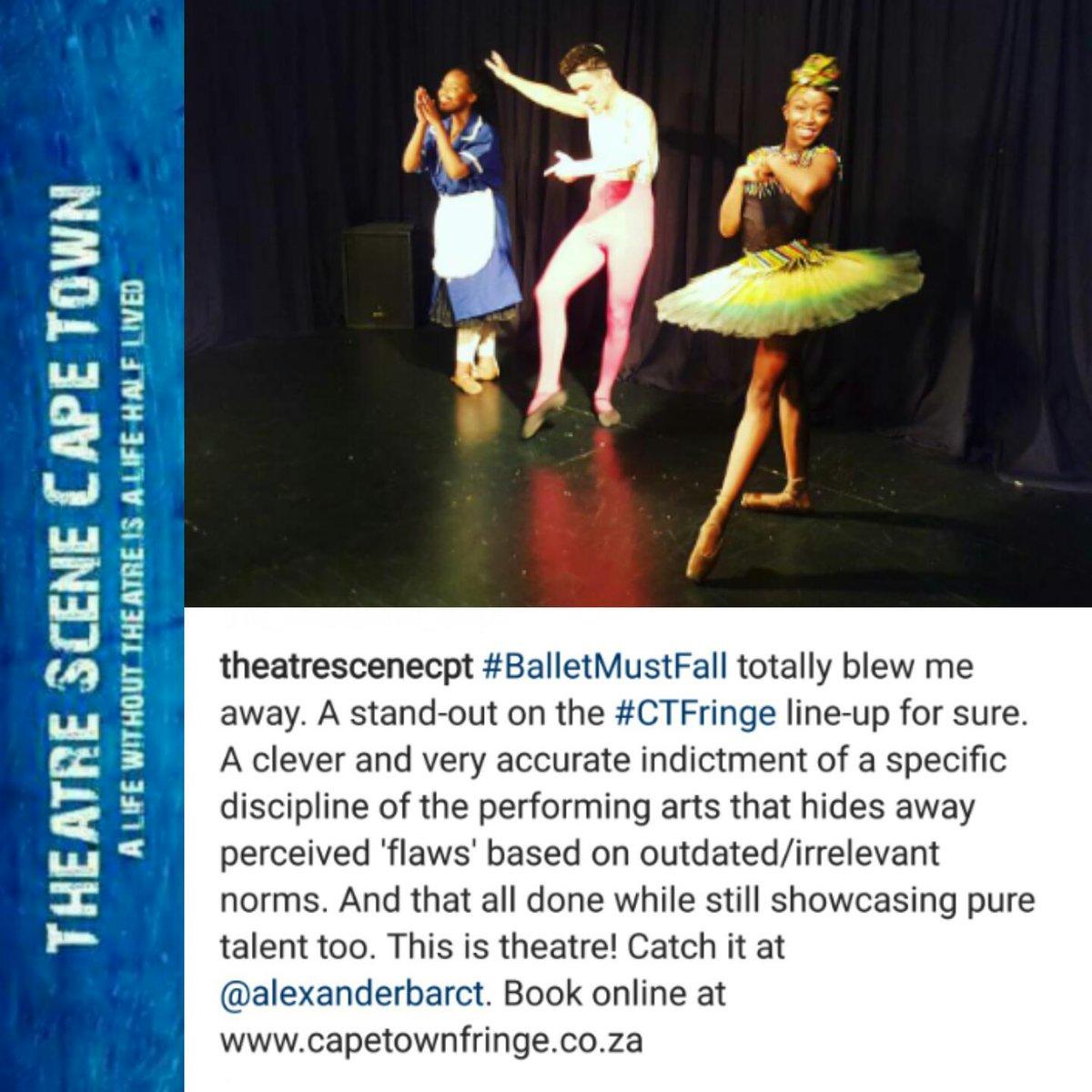 balletmustfall hashtag on Twitter
