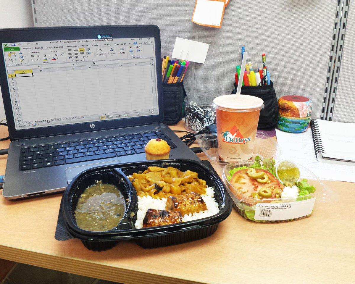¿Poco tiempo para almorzar? Acércate a los carritos de comida caliente #ListaParaLlevar en tu #Delirys favorito #ComoenCasa