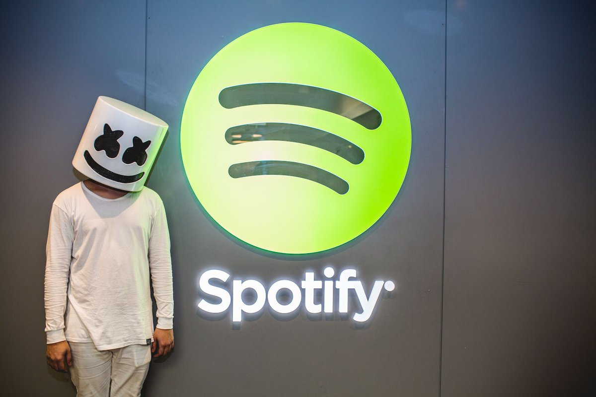 marshmello on twitter we are now the 399th most listened to artist