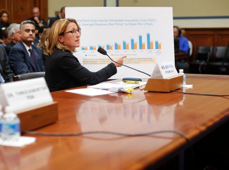 Mylan's EpiPen profits are 60 percent more than it told Congress, report says