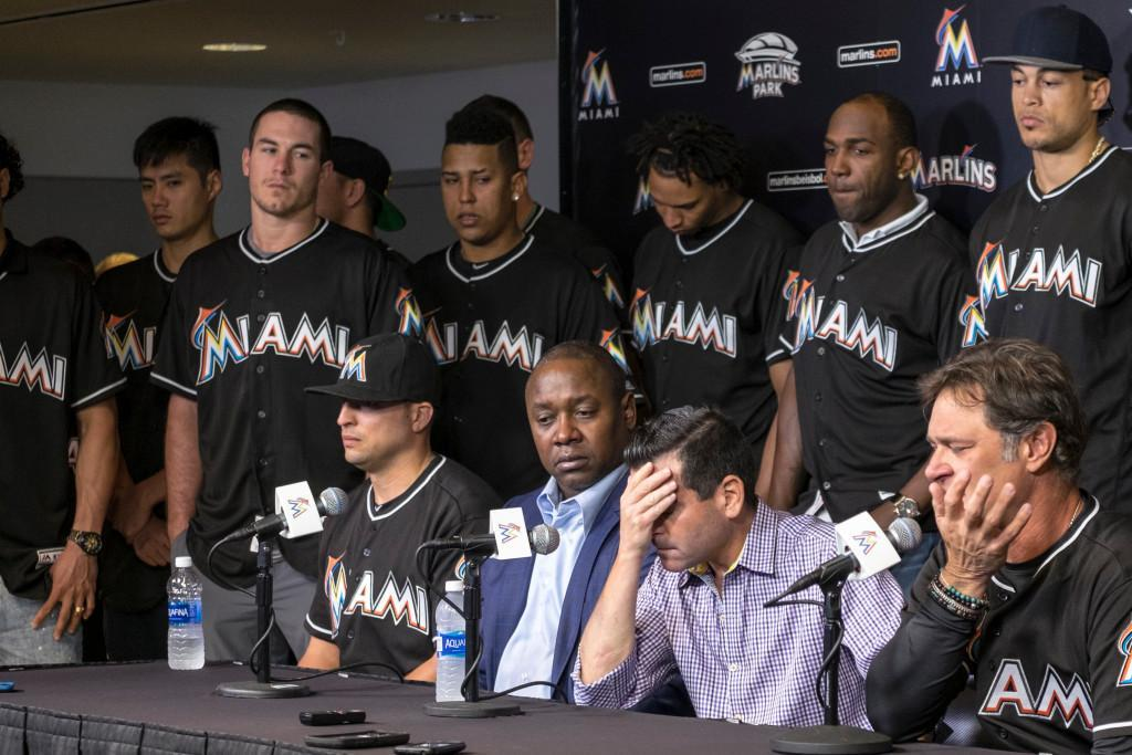 Marlins to all wear No. 16 in honor of Jose Fernandez