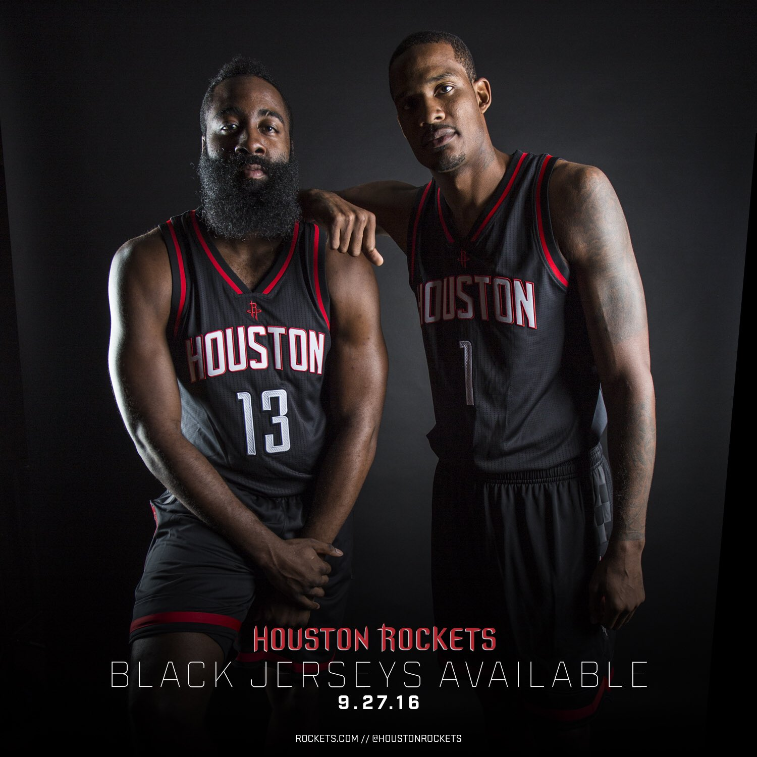 "Houston Rockets On Twitter: ""These Black Jerseys Will Be"