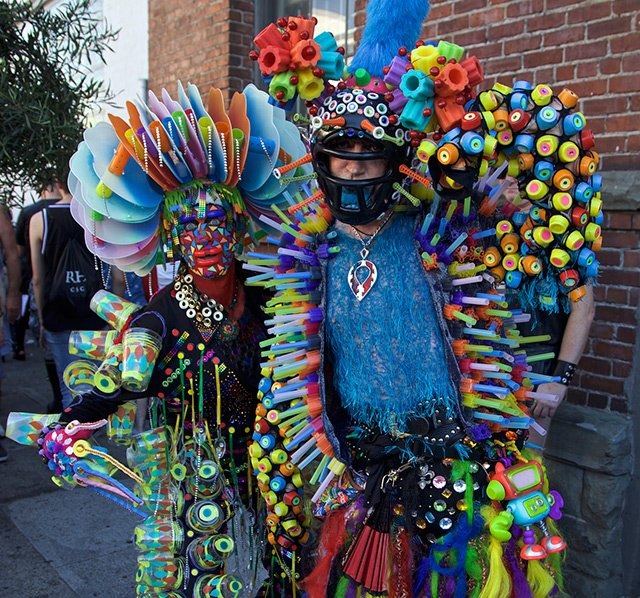 The Naked And Unafraid: NSFW Scenes From Folsom Street Fair 2016