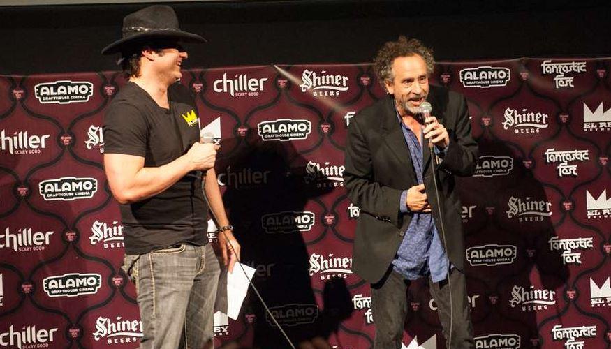 Tim Burton haunted @fantasticfest this weekend. A-List photos