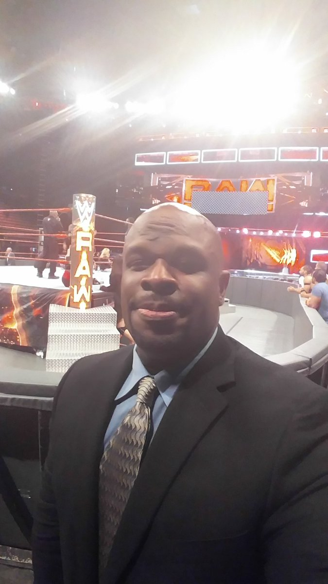 I think I like my new role in WWE now. I can get used to this... Oh Testify !!!  #WWE #RAWTonight https://t.co/qqklSi7wZ8
