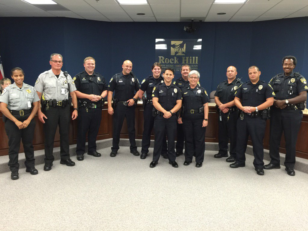 Rock Hill Pd On Twitter Rhpd Sro S Honored Tonight At The Rock