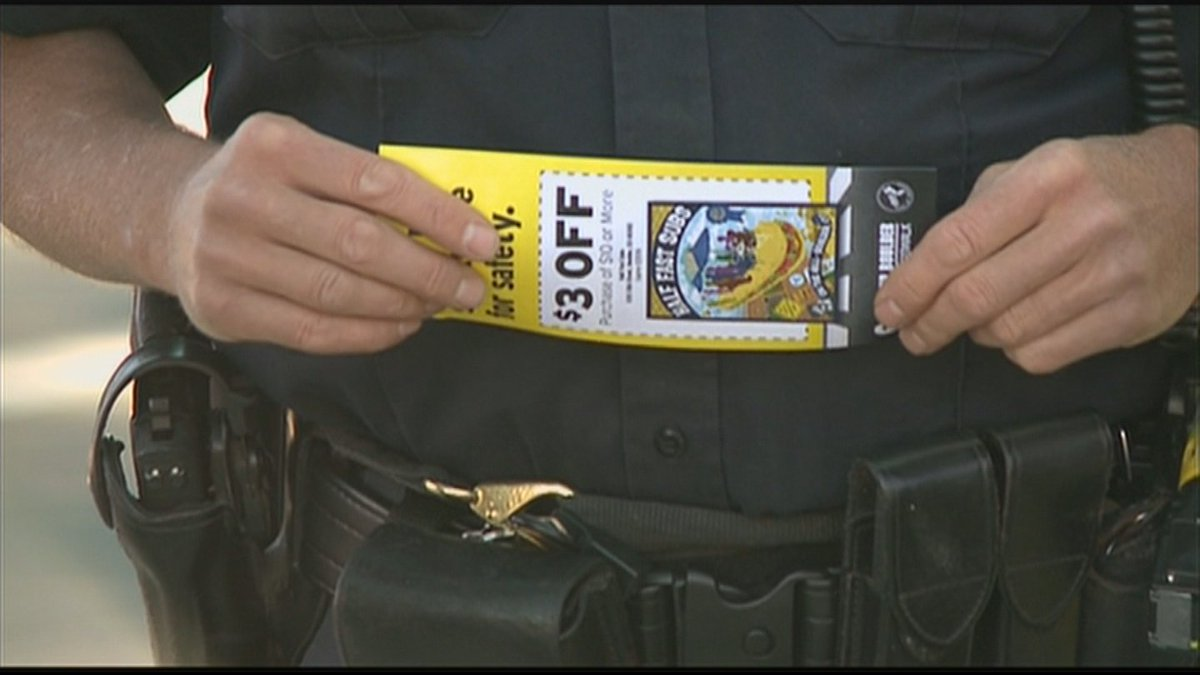 Police Hand Out Tickets For Good Behavior