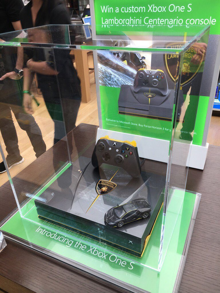 Flipboard Look At This Gorgeous Xbox One S Lamborghini Custom Console