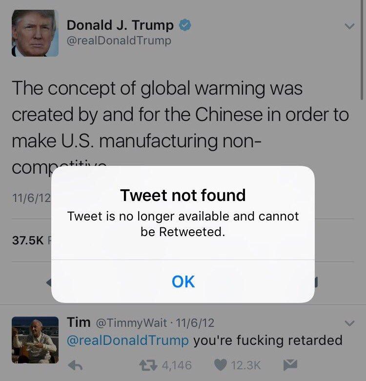 #trump's team is deleting tweets in real-time #debatenight #debates #Debates2016 #ImWithHer https://t.co/At2MvKE3VK