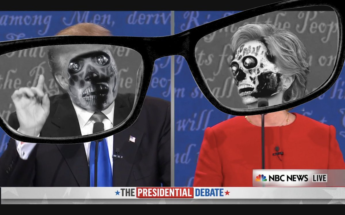 You actually don't need special glasses to see what's really going on #debatenight #theylive https://t.co/mWuM58mw3g