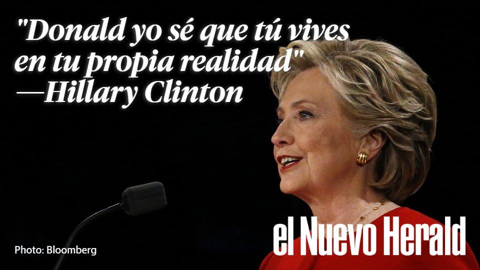 Hillary Clinton Frases Hillary Clinton Debate Presidencial