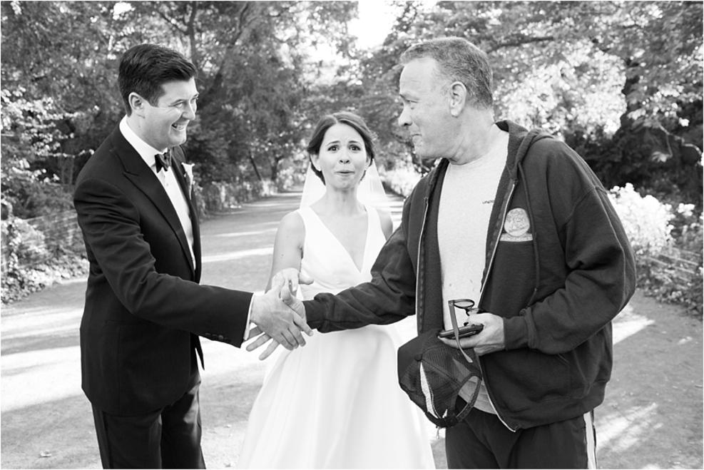 Tom Hanks photobombs couple's wedding shoot in Central Park