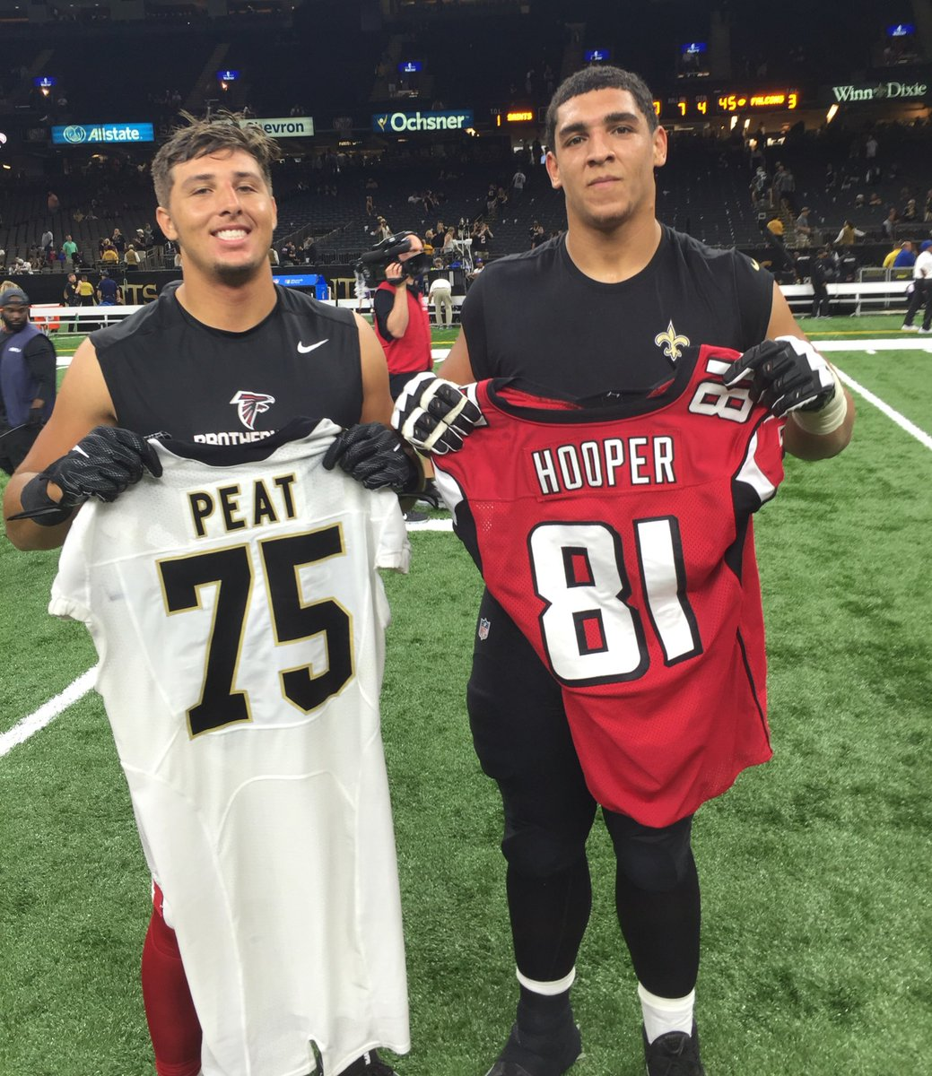 stanfordfball teammates andrus peat and austin hooper with the rh scoopnest com
